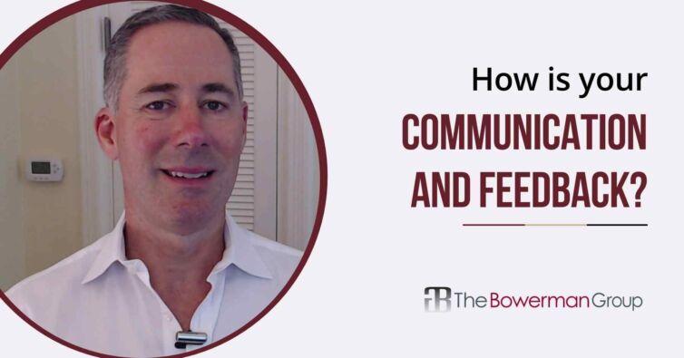 Communication and feedback